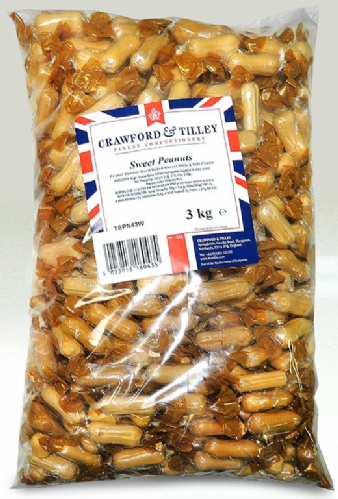 TIL01 TILLEY'S SWEET PEANUTS WRAPPED 3kg